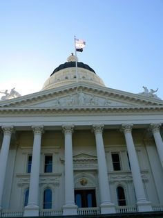 California's State House in Sacramento