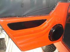Porta De Fibra Para Jeep Engesa F-1 - R$ 2.255,00 em Mercado Livre