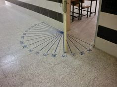 This is a great practical, visual solution for teaching angles!