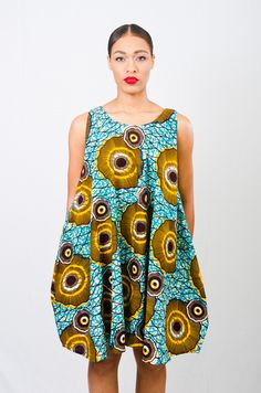 A.Au Baby Doll Dress ~African fashion, Ankara, kitenge, African women dresses…