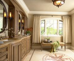 Master Bathroom - traditional - bathroom - minneapolis - Twist Interior Design - love the light mocha color