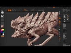 Learn how to easily exaggerate details in Zbrush - YouTube