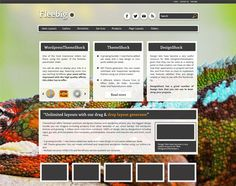 13 Free & Fresh WordPress Themes