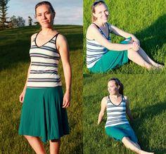 Modest Fashion Style Journey #yycfashion #swimsuit #fionaoutfits