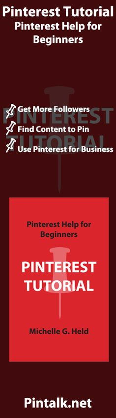 Chapter 2: Who Uses Pinterest? Chapter 3: Pinterest's Beginning Chapter 4: Getting Started: Terminology Chapter 5: How To Set Up A New Account Chapter 6: Following Users Chapter 7: Setting Up Your First Boards Chapter 8: Pins, Likes, and Comments Chapter 9: Beyond the Basics Chapter 10: Following and Feeds Chapter 11: Pinterest for Business Chapter 12: Converting to or Getting Started as a Business Account Chapter 13: Business Best Practices