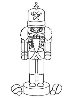 Top 20 Nutcracker Coloring Pages For Your Little Ones