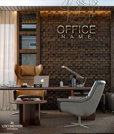 office on Behance Office Cabin Design, Small Office Design, Industrial Office Design, Corporate Office Design, Office Furniture Design, Home Office Setup, Office Interior Design, Office Interiors, Modern Office Table