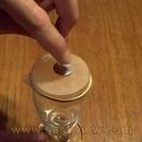 Using a balloon, small glass, coin, and a rubber band, you can perform this amazing illusion. Afterwards everything can be examined.