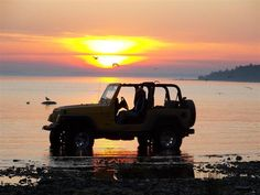 jeep sunset...Love off road