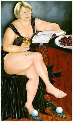 Natasha Pantelyat ( ample plus-size art ) Reading Art, Woman Reading, Reading Books, Big And Beautiful, Beautiful Women, People Reading, Art Beauté, Plus Size Art, Books To Read For Women