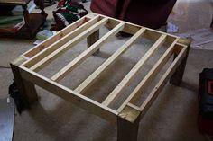 =*Superwoman*=: Reclaimed Wood Coffee Table