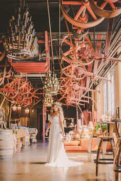 Check out this gorgeous destination wedding at Sunshine Mill Winery.