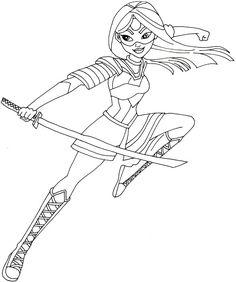 free printable coloring page for dc super hero girls supergirl wonder woman and batgirl