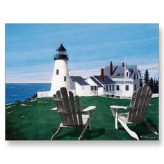 My favorite Lighthouse - Pimiquid Point Light in Maine