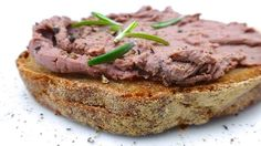 Chicken Liver Pate: a creamy homemade liver pate with butter and juniper berries...