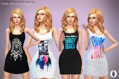 TANK YOU VERY MUCH at NiteSkky Sims • Sims 4 Updates