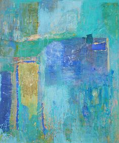 Charlotte Culot - Collection Color Studies, Abstract Landscape, Abstract Paintings, Abstract Art, Modern Art, Contemporary Art, Canvas Art, Artworks, Blues