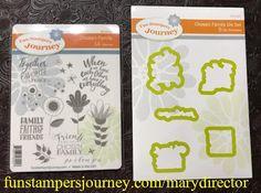 KreatesKards Journey: SNEAK PEEKS ... New Stamps & Die Sets Premiering July 1 From Fun Stampers Journey.