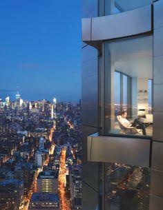 Frank Gehry design, skyscraper , New York