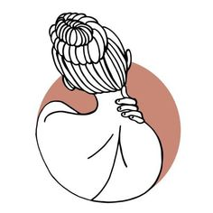"vikiink: ""Another minimalist piece I made. 🐥 If you want me to tattoo this design let me know or tell a friend who might like it. ❤ #tattooapprentice #tattoodesign #minimalisttattoodesign #illustration #illustrator #illustratör #girl #woman #hairbun..."