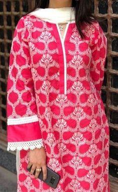 Sleeves Designs For Dresses, Dress Neck Designs, Stylish Dress Designs, Stylish Dress Book, Stylish Dresses For Girls, Simple Pakistani Dresses, Pakistani Dress Design, Designer Kurtis, Designer Wear