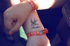 Fearless . Might get this one , if i do decide to get it on my wrist .