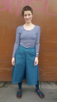 Aimee's review of the Roehampton Culottes from Beginner's Guide to Skirts. My Style, Skirts, Pants, Sew, Inspiration, Inspired, Fashion, Biblical Inspiration, Moda