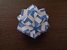毎日uniuni まいにちゆにゆに 折り紙ブログ くす玉おりがみ 布施知子