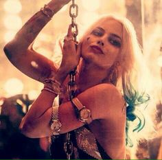 Harley Quinn in the club in Suicide Squad