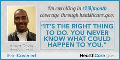 Albert's Enrollment Story: On enrolling in $23/month coverage through HealthCare.gov: It's the right thing to do. You never know what you co...