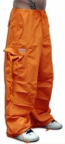 Unisex Basic UFO Pants (Orange)