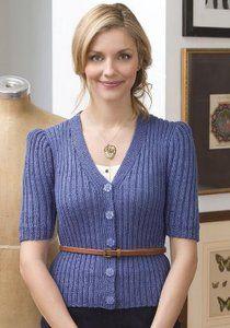 Free knit pattern Downton Abbey Cardigan