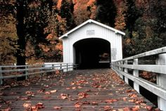 The Goodpasture covered bridge near Vida, Oregon.