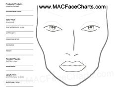 The Free Mac Face Chart