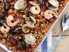 Get Valerie's Super Easy Oven Paella Recipe from Food Network
