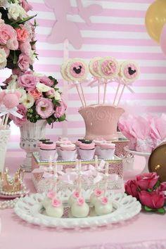 Festa Minnie em rosa