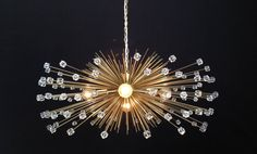 Hey, I found this really awesome Etsy listing at https://www.etsy.com/listing/161570472/5-bulb-crystal-beaded-urchin-chandelier