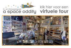 A Space Oddity tv en filmspeelgoed