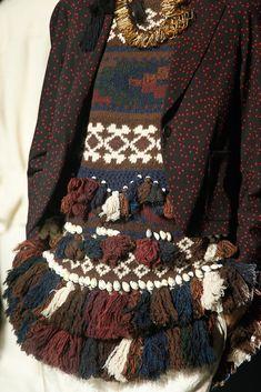Dries Van Noten / Spring 2014 / RTW High Fashion / Ethnic & Oriental / Carpet & Kilim & Tiles & Prints & Embroidery Inspiration /