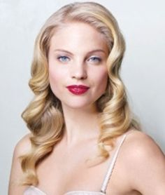 Vintage curls - want my hair like this for my 21st!!
