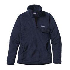 Patagonia Women\'s Re-Tool Snap-T\u00AE Fleece Pullover - Navy Blue - Navy Blue X-Dye NVYX