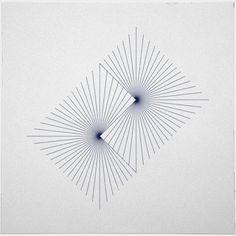 Passionné de géométrie, Tilman Zitzmann est un graphiste allemand. C'est sur son blog, que l'on peut découvrir chaque jour une nouvelle composition.