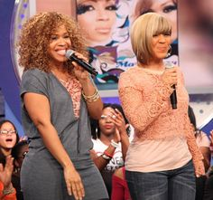 mary mary gospel singers | Mary/Mary On 106 & Park And The Yolanda Adams Morning Show | Praise ... Erica Campbell, Old School Music, Morning Show, Great Women, Godly Woman, Gospel Music, Soul Music, Celebs, Celebrities