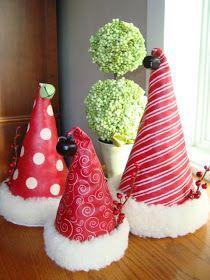 Christine's Favorite Things: Santa Hat Tutorial