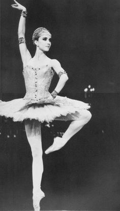 Sylvie Guillem in Raymonda. With out a doubt my favorite ballet to put on. So much charector. Guillem's story behind it is pretty funny too! If you haven't heard it