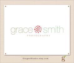 Custom Premade Logo Design watermark by GingerStudio on Etsy, $30.00