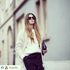 @ilivanilli_  with #wannamariafiori #clutch  ❤️ www.facebook.com/wannamariafiori ❤️ #fashion  #lifestyle #bag  #leather #black #longhair #sunglasses #madeinitaly #musthave #repost  #pfw  #unisex #genderlesscollection #collection #shoeslover  #bagslover #shoes  #potd #picoftheday  #outfitoftheday  #ootd #blog  #blogger  #fashionblogger #love ❤️