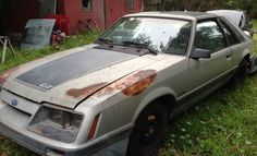 Backyard Project: 1986 Ford Mustang GT - http://barnfinds.com/backyard-project-1986-ford-mustang-gt/