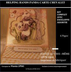 Créa'Cartes par Wanda : Cartes de voeux, carte anniversaires, ou pour n'importe quelle occasion