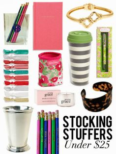 Stocking Stuffers for Her Under $25